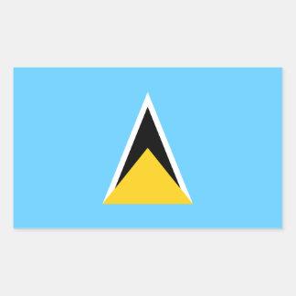 Bandera de la Santa Lucía Pegatinas