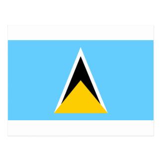 Bandera de la Santa Lucía Postales
