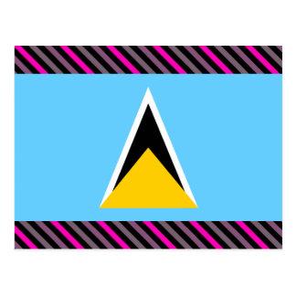 Bandera de la Santa Lucía Postal