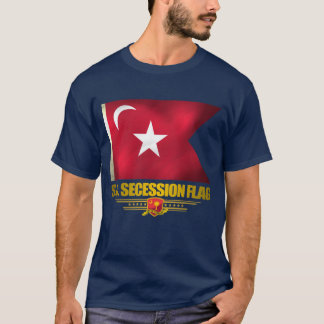 Bandera de la secesión de Carolina del Sur Playera