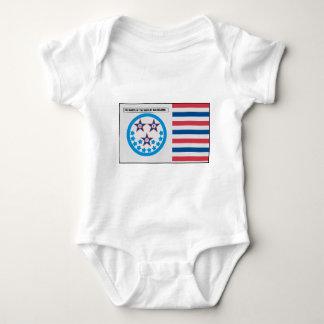 Bandera de la secesión usada por la Florida - 10 Body Para Bebé