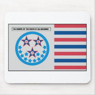 Bandera de la secesión usada por la Florida - 10 d Alfombrillas De Ratones