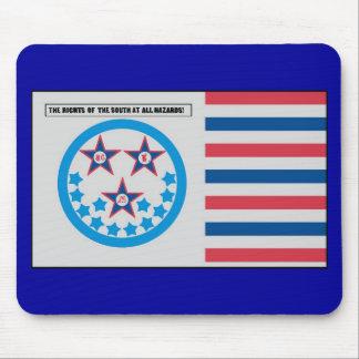 Bandera de la secesión usada por la Florida - 10 d Tapetes De Raton