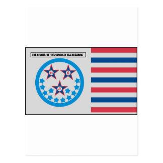Bandera de la secesión usada por la Florida - 10 Postal