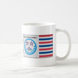 Bandera de la secesión usada por la Florida - 10 Taza De Café