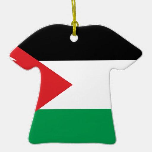 Bandera de la solidaridad de Gaza Turquía Adorno Para Reyes