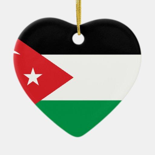 Bandera de la solidaridad de Gaza Turquía Ornamentos De Navidad