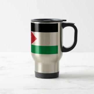 Bandera de la solidaridad de Gaza Turquía Taza De Café