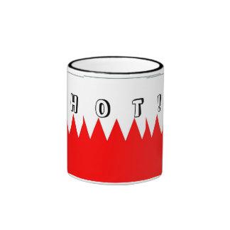 Bandera de la taza caliente de Bahrein