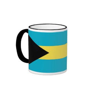 Bandera de la taza de Bahamas