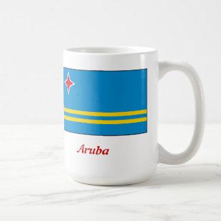 bandera de la taza de café de Aruba