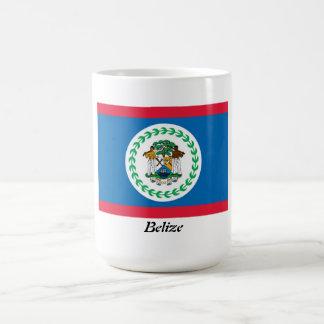 Bandera de la taza de café de Belice