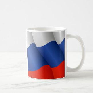 Bandera de la taza de la Federación Rusa
