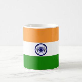 Bandera de la taza de la India