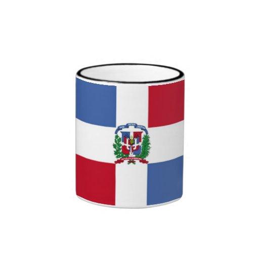 Bandera de la taza de la República Dominicana