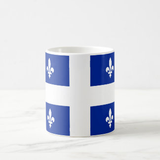 Bandera de la taza de Quebec