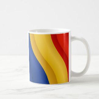 Bandera de la taza de Rumania