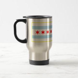 Bandera de la taza del viaje de Chicago