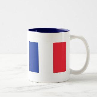 Bandera de la taza fuerte de Francia