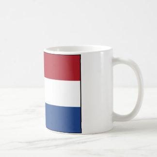 Bandera de la taza holandesa
