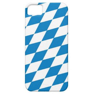 bandera de la tierra de Alemania de Baviera iPhone 5 Case-Mate Cárcasas