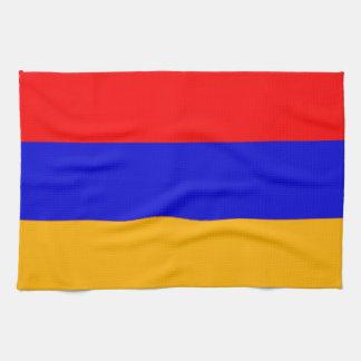 Bandera de la toalla de cocina de Armenia