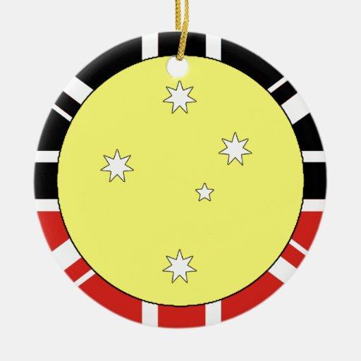 Bandera de la unificación de Australia Ornato
