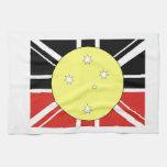 Bandera de la unificación de Australia Toallas