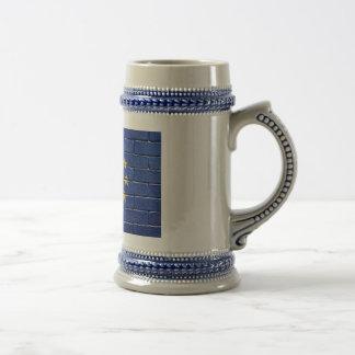 Bandera de la unión europea jarra de cerveza