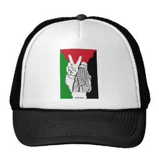 Bandera de la victoria de Palestina Gorras
