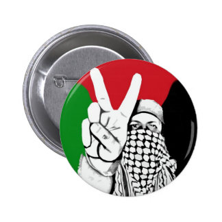 Bandera de la victoria de Palestina Pin Redondo De 2 Pulgadas