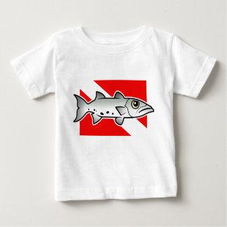 Bandera de la zambullida del Barracuda Camisas