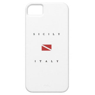 Bandera de la zambullida del equipo de iPhone 5 carcasa