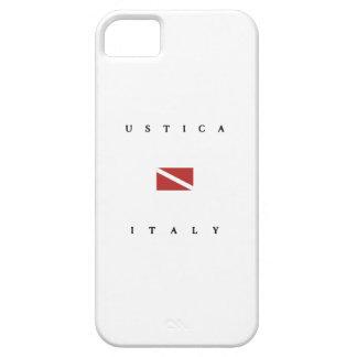 Bandera de la zambullida del equipo de iPhone 5 fundas