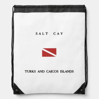 Bandera de la zambullida del equipo de mochilas