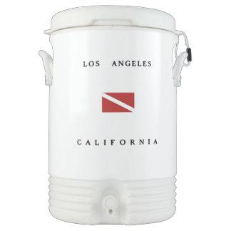 Bandera de la zambullida del equipo de refrigerador de bebida igloo