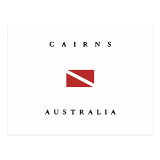 Bandera de la zambullida del equipo de tarjetas postales