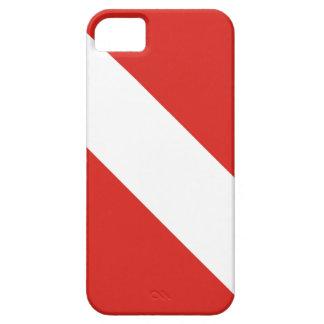 Bandera de la zambullida iPhone 5 fundas