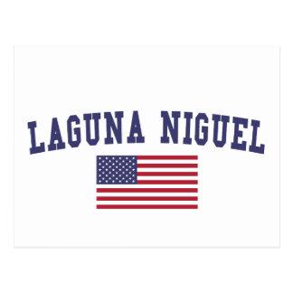 Bandera de Laguna Niguel los E.E.U.U. Tarjetas Postales