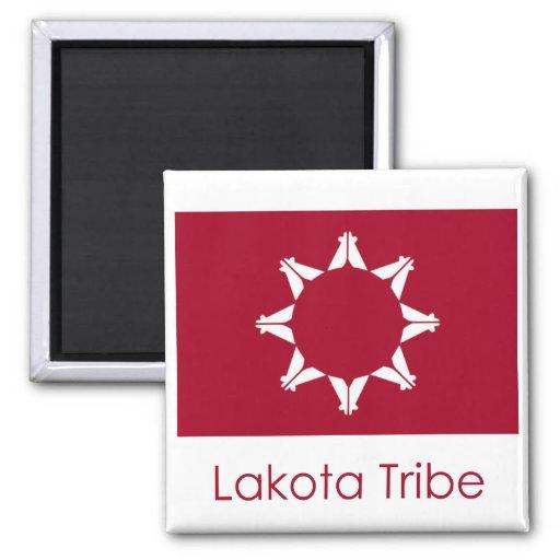 Bandera de Lakota Imán De Frigorífico
