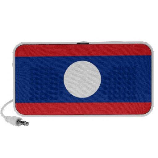 Bandera de Laos Laptop Altavoces