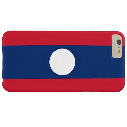 Bandera de Laos Funda De iPhone 6 Plus Barely There