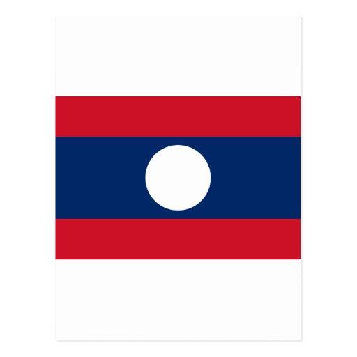 Bandera de Laos Postal