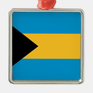 Bandera de las Bahamas Adorno De Navidad