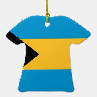 Bandera de las Bahamas Ornaments Para Arbol De Navidad