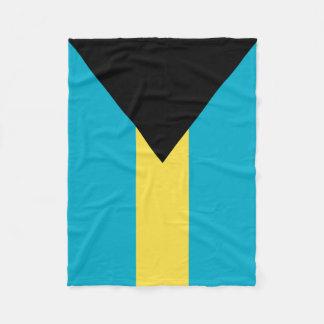 Bandera de las Bahamas Manta De Forro Polar