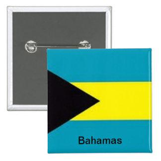 Bandera de las Bahamas Pins
