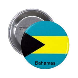Bandera de las Bahamas Pin Redondo De 2 Pulgadas