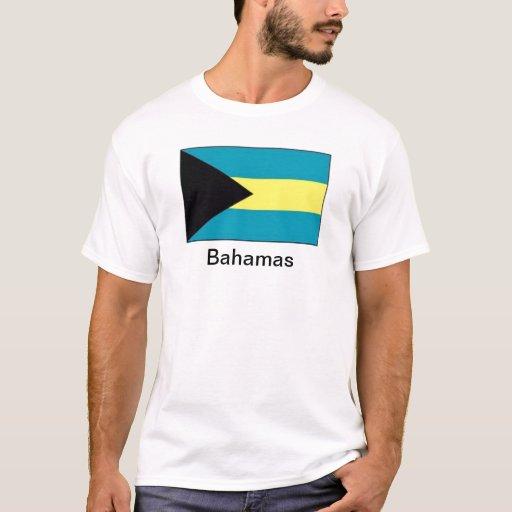 Bandera de las Bahamas Playera