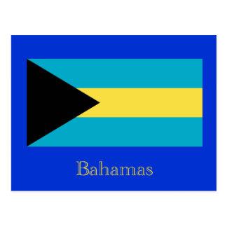 Bandera de las Bahamas Postales